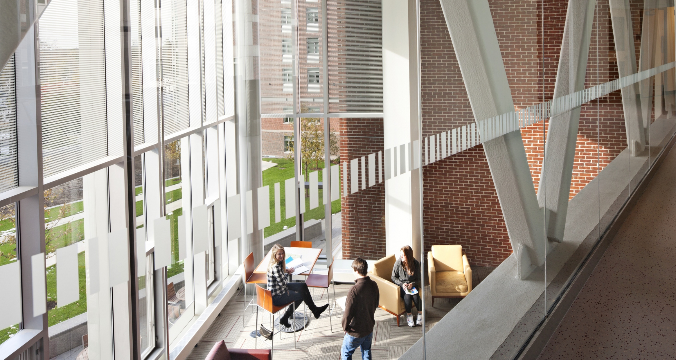 view of student lounge