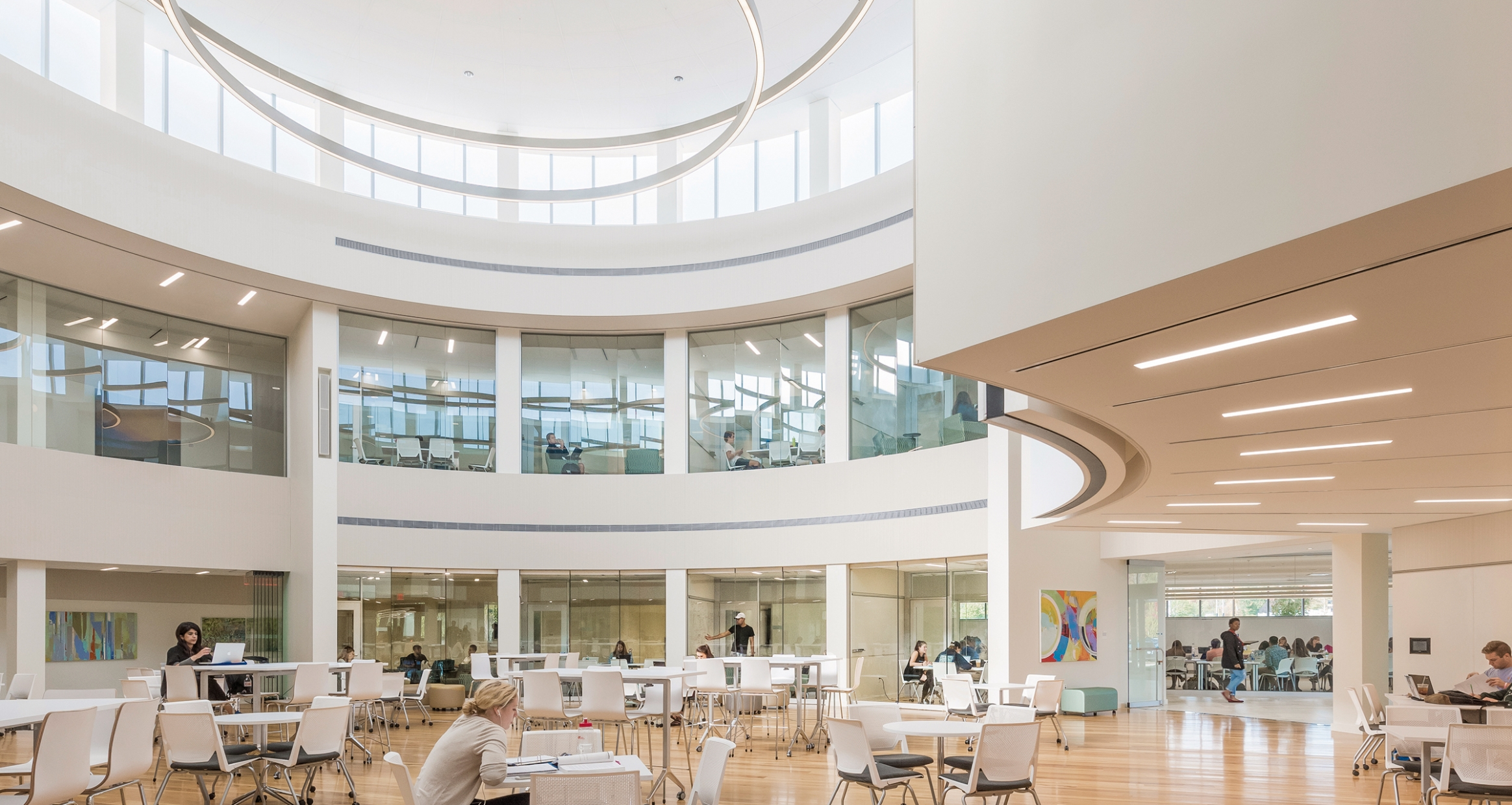 Innovative Classroom Architecture ~ Academic innovation center eyp