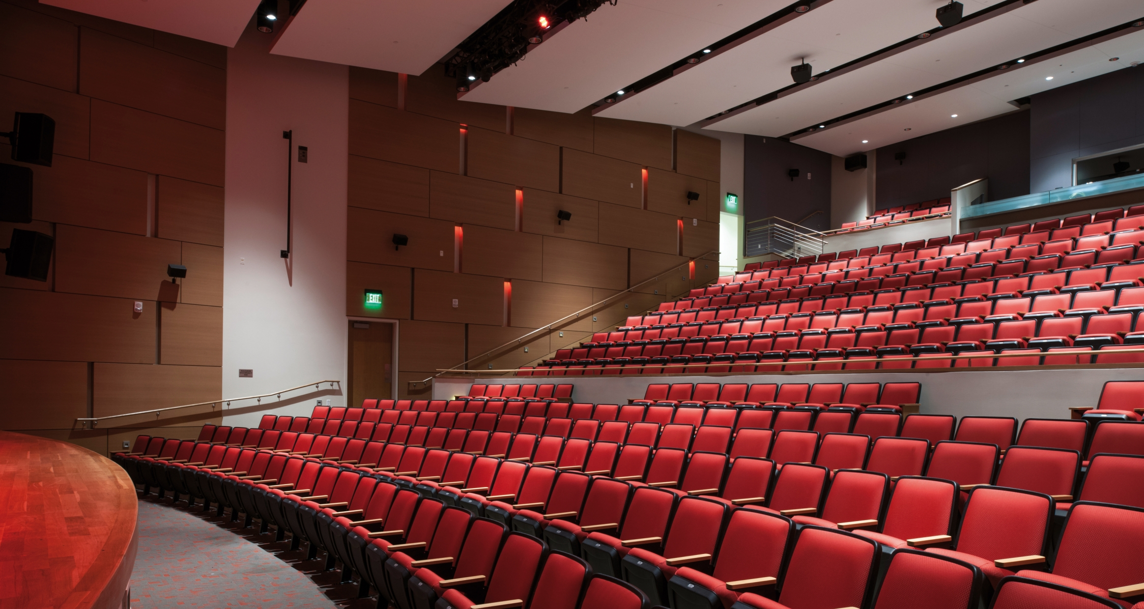 450-seat theater in the University of Houston Student Center