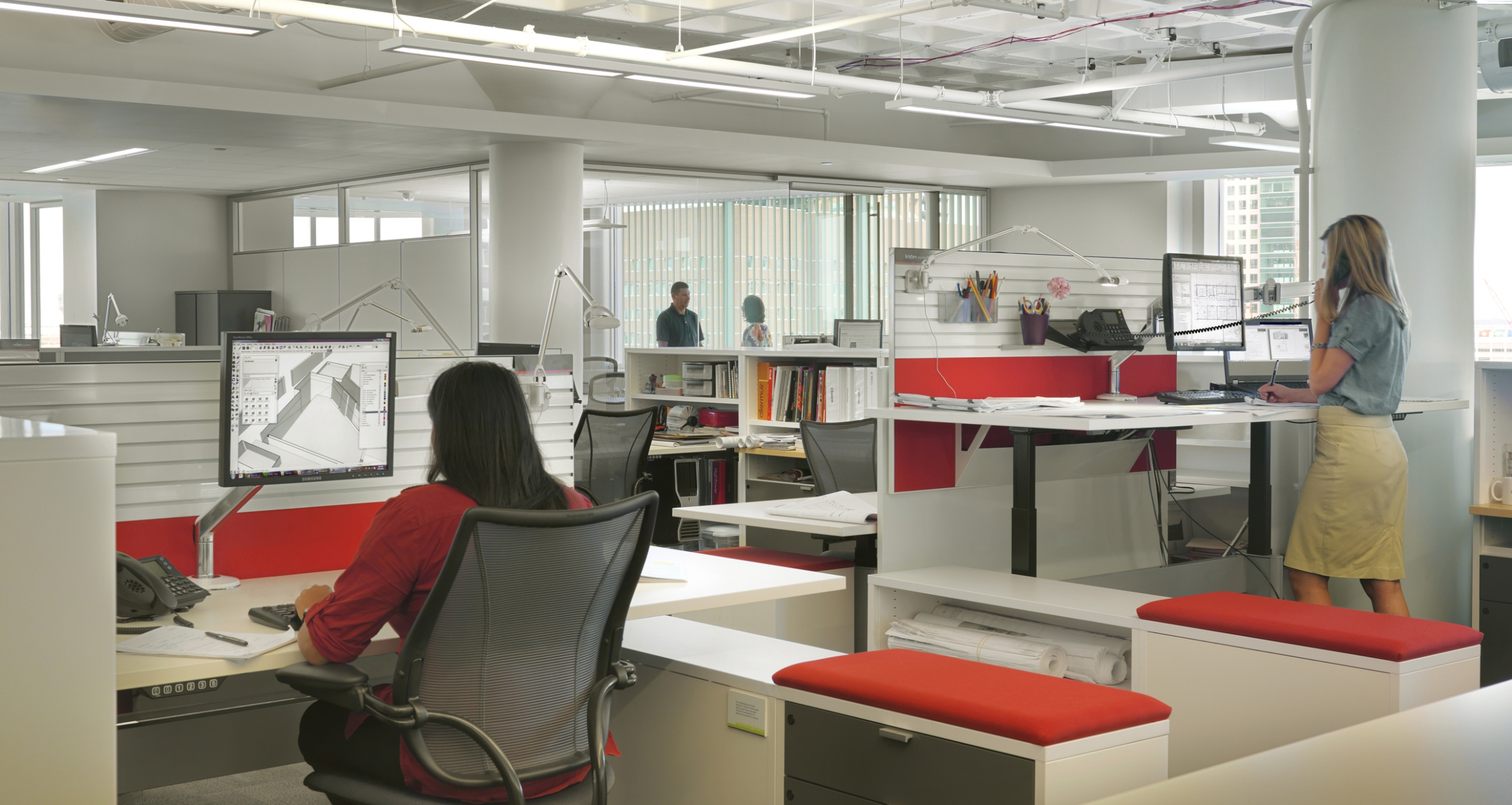 EYP office workspaces