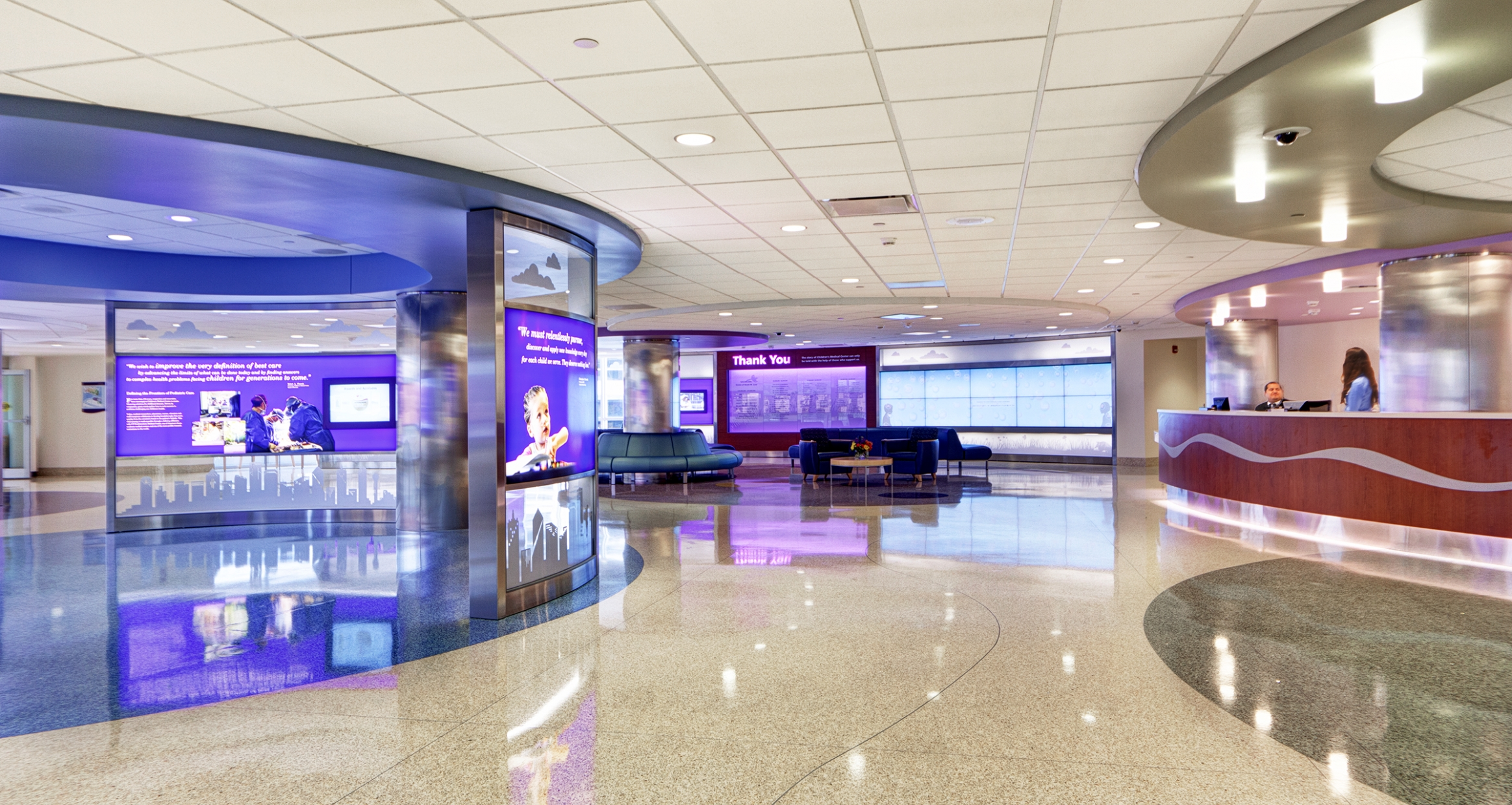 Children's Hospital of Dallas Interactive Lobby