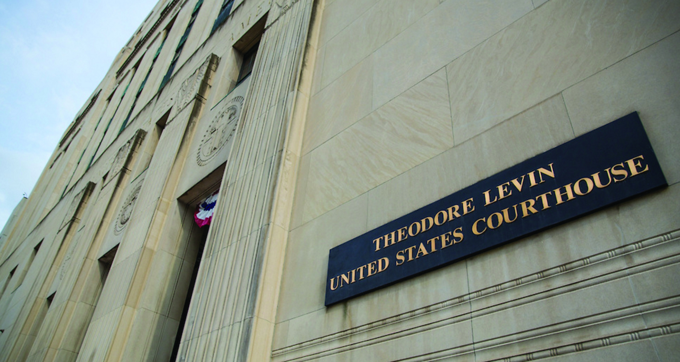 Theodore Levin U.S. Courthouse Exterior Detail