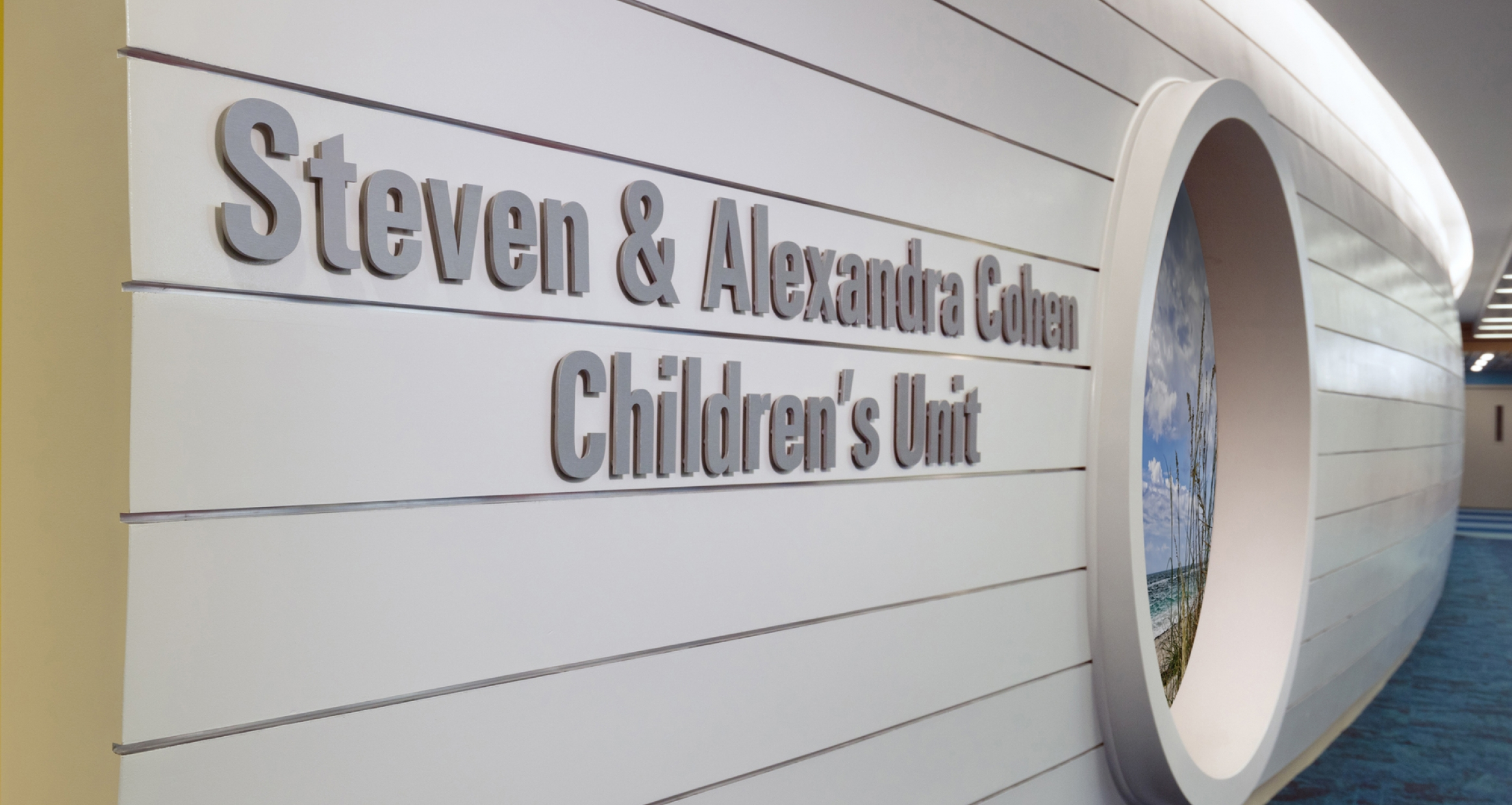 Children's Unit Sign