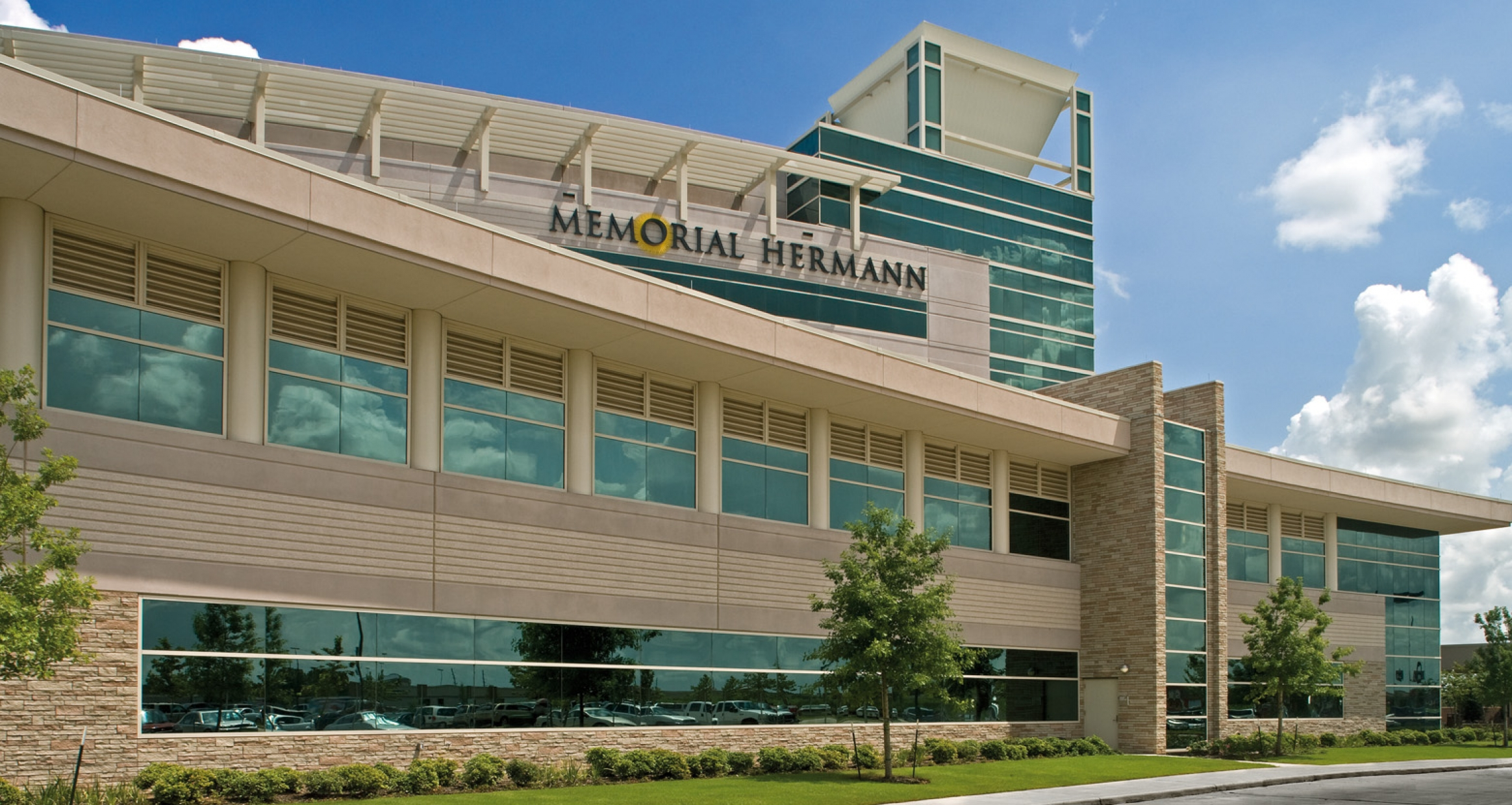 Exterior view of Sugar Land Hospital