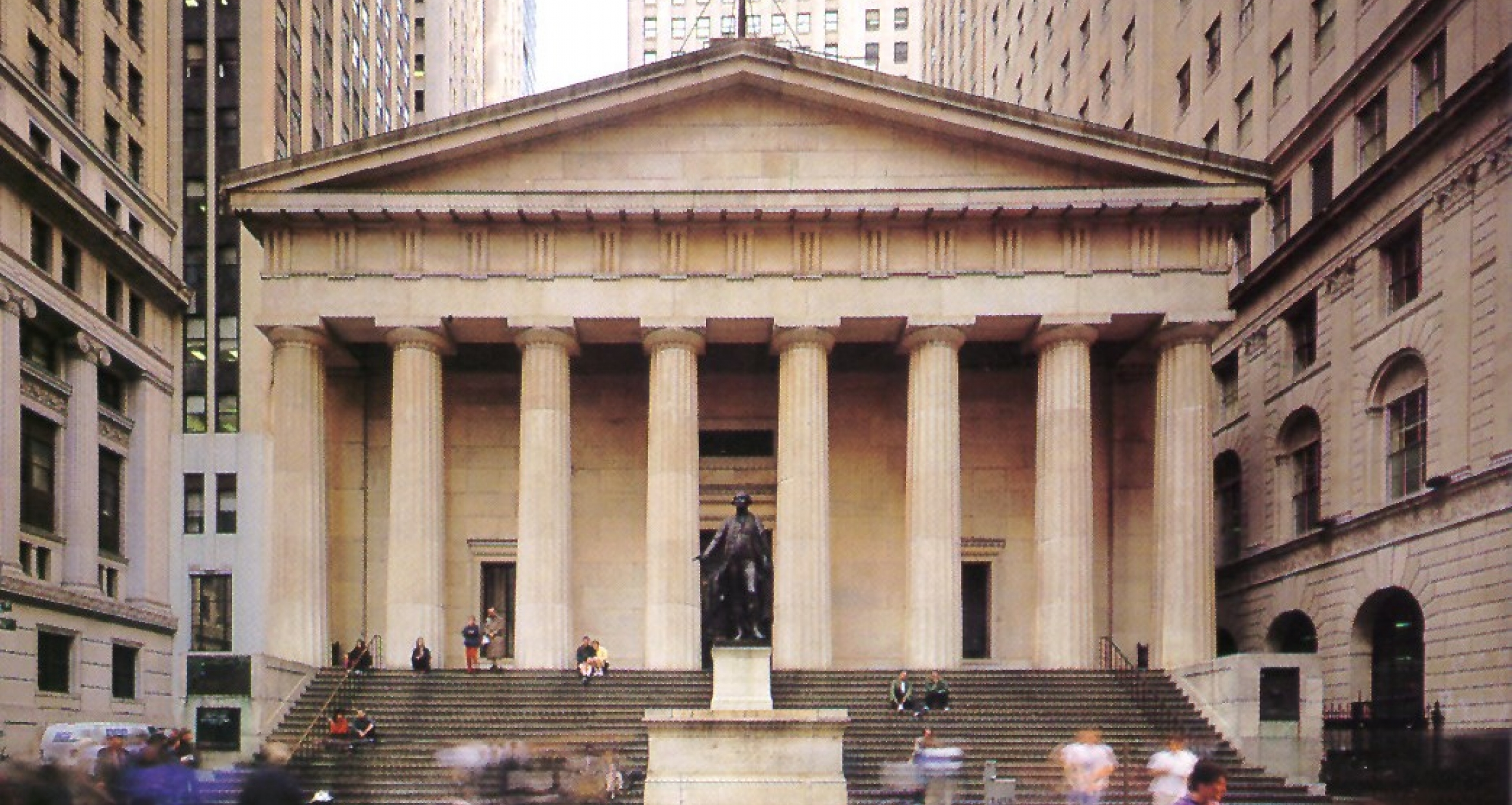 Federal Hall National Memorial in New York City