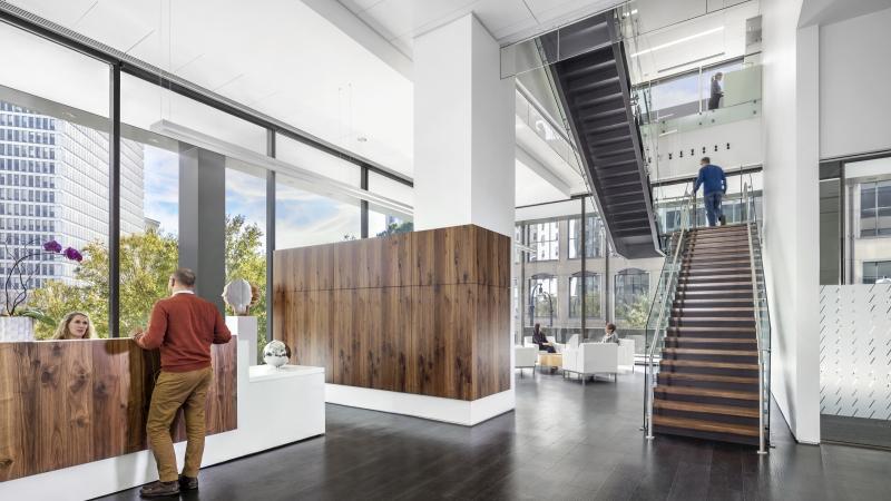 Architecture Design Office. Office Reception Lobby Architecture Design