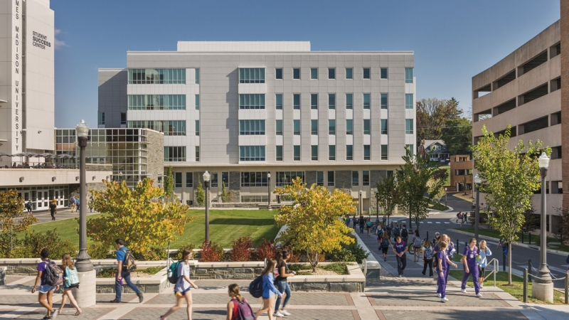 JMU, Health & Behavioral Studies Building