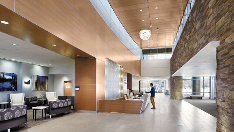 interior design of ocean medical center