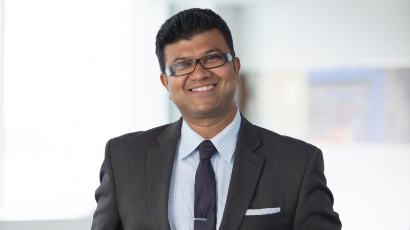 headshot of Houston managing principal Tushar Gupta