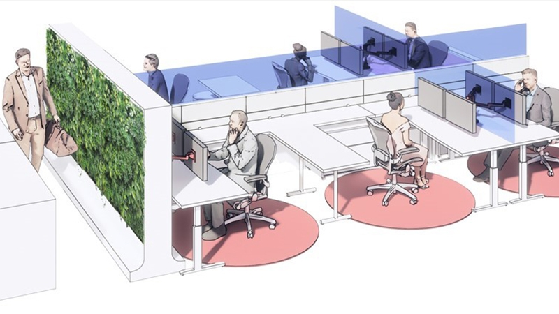 what an office could look like post pandemic