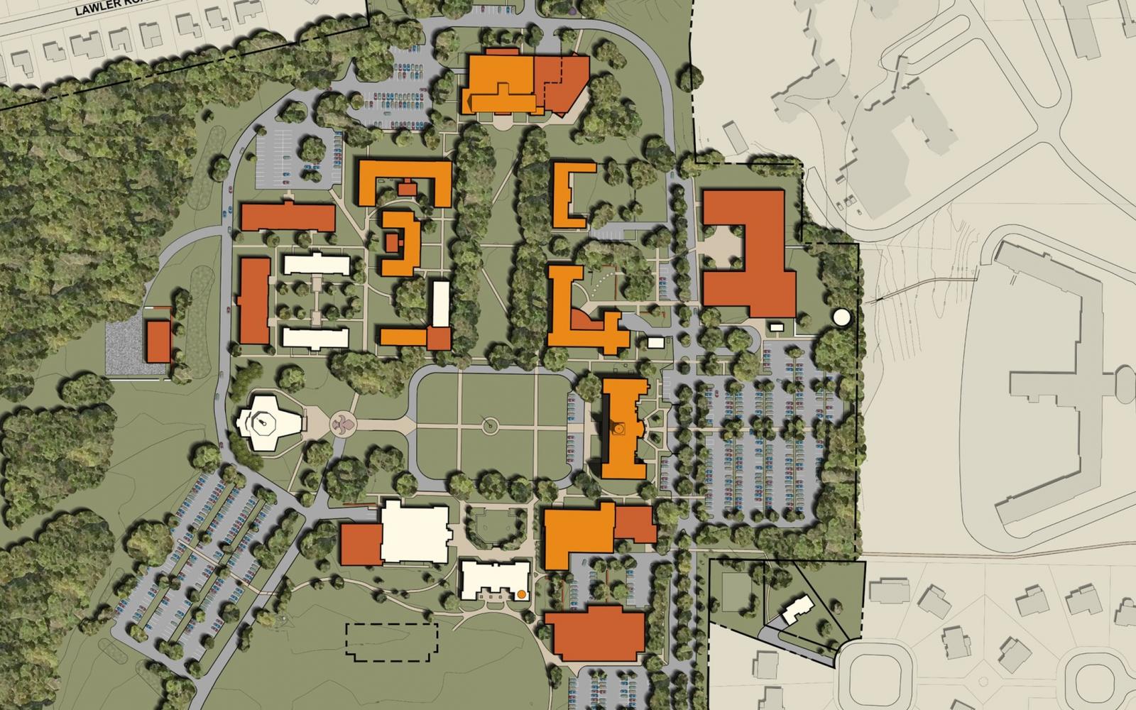 Hartford Hospital Campus Map.Campus Master Plan Eyp