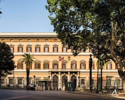 US Embassy in Rome, Italy