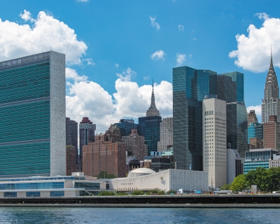 View of the United Nations