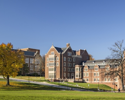 Exterior View of campus buildings
