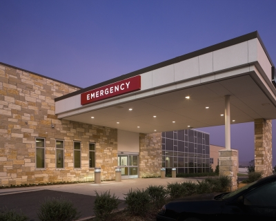 Entrance to Emergency Department at Hopkins County Memorial Hospital